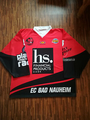 EC Bad Nauheim Game Worn Mat Ponto #5 aus Benefizspiel gg. Priemere All-Stars