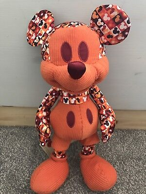 New Disney Mickey Mouse memories July Plush Teddy 07/12 limited edition Uk