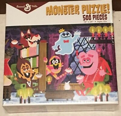 General Mills Cereal Monsters Puzzle! Exclusive Mib! Count Chocula Frute Brute