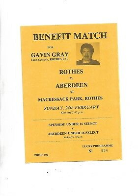 undated Grant benefit  Rothes V Aberdeen