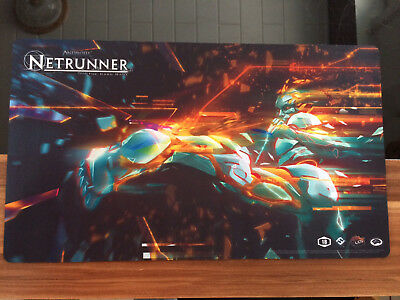Android Netrunner Regional 2018 Spielmatte Playmat PROMO