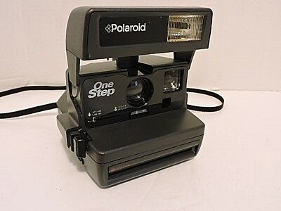 Polaroid One Step 600 Film Instant Camera~NICE!