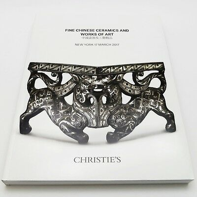 CHRISTIE'S Auction Catalog FINE CHINESE CERAMICS & WORKS OF ART March 2017 12900
