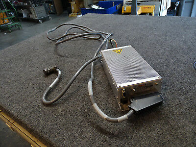 Pfeiffer TCP 120-RS 232 Vacuum Pump Controller w/ Cable