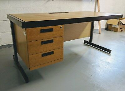 Used office desk with drawers