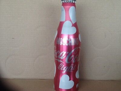 coca cola aluminum bottle Moschino Limited Edition