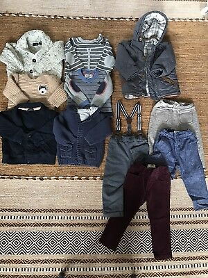 Boys Winter clothes Bundle 12-18 Months Zara/next/H&M