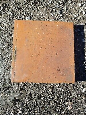 Reclaimed 9 Inch x 9 Inch Red and Purple Quarry Tiles 9x9 Floor Tiles