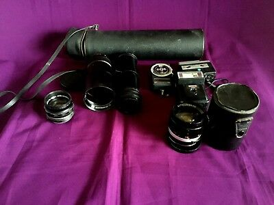 Collection Of Various Camera Items