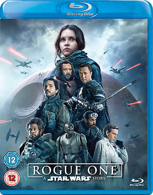 Rogue One: A Star Wars Story (Blu-ray/DVD, 2017, 3-Disc Set, Includes Digital Co