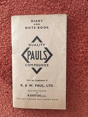 1948 Notebook And Diary