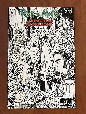 Rick & Morty vs Dungeon And Dragons Convention Variant
