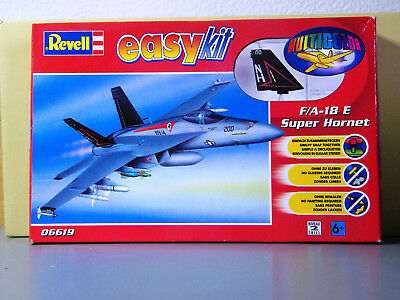 Revell-F/A-18E Super Hornet Easy Kit 1:100 - 06619