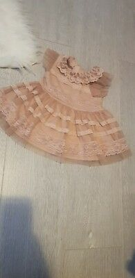 Baby Girls next Party Dress 3-6 Months