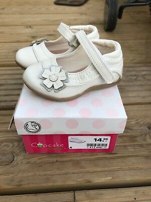 New Baby Girl Shoes Size 4 White