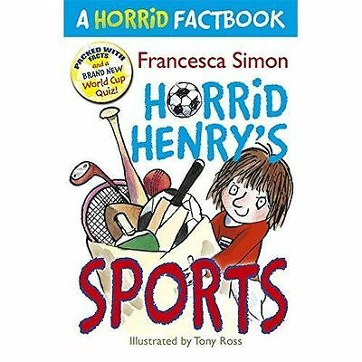 NEW   HORRID HENRY'S - SPORTS - FACTBOOK  book Horrid Henry