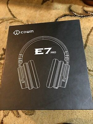 COWIN E7 PRO Active Noise Cancelling Wireless Bluetooth Headphone w/ Microphone