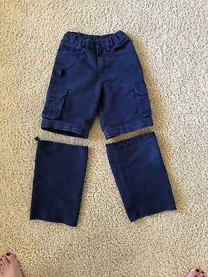 Official BSA Cub Scouts uniform pants zip off shorts- Youth 8  FREE SHIPPING