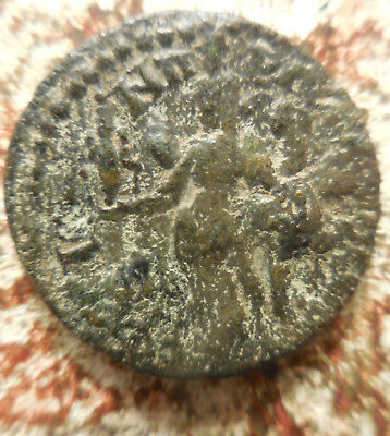 Ancient Caracalla Coin of Revelation City Ephesos! 198-217 AD: Full ID Envelope!