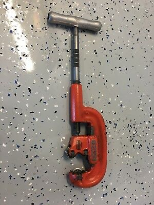 """Ridgid 2A Heavy Duty Pipe Cutter Mint Condition 1/8""""-2"""" NO RESERVE"""
