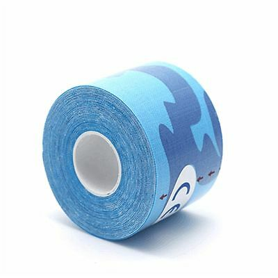 Physio Elastic 1 Roll Kinesiology Sports Tape Muscles Care 2.5cm X 5m