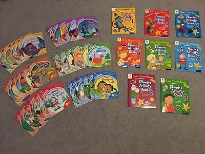 oxford reading Julia Don' Songbirds Collection x 36 + Phonics Activity Books x 8