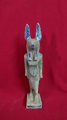 Ancient Egyptian Statue of God Anubis (c. 3100 – c. 2890 BC)