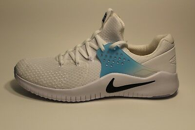878ee4581150e Nike Free Trainer V8 Training Shoe White Black Lagoon Pulse Size 13 AH9395- 104