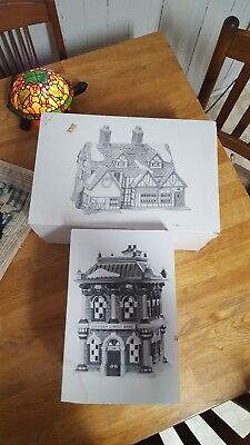 DEPT 56 Building Lot of 2 HERITAGE VILLAGE COLLECTION Dickens Village Series box