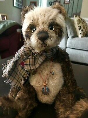 Charlie Bears Burdock, Limited Edition Mohair of 400 Worldwide, Retired and VHTF