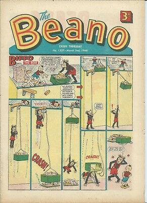 Beano Comics 1968. Good Condition. March 2nd, 9th, 16th, 23rd & 30th 1968.
