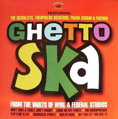 V.A.* Ghetto Ska From The Vaults Of WIRL & Federal Studios LP Neu *Skatalites*