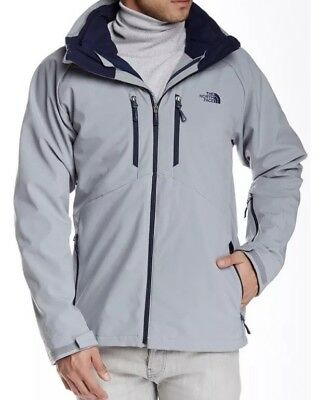 c1494d1239e8 ... discount code for the north face apex storm peak triclimate hooded  jacket shell gray small noliner ...