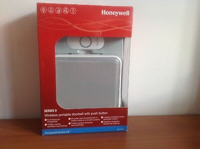 Honeywell DC917NG 9 series Wireless 200meter MP3 Doorbell With Halo Light NEW