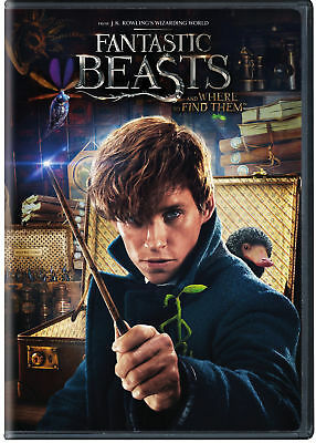 Fantastic Beasts and Where to Find Them (Blu-ray/DVD, 2017, 2-Disc Set)
