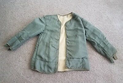 Vintage WWII WW2 US Army Field Jacket Liner Rare