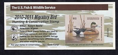 TDStamps: US Federal Duck Stamp Scott#RW77A $15.00 Mint NH Self-Adhesive