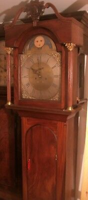 "Antique  "" Liverpool ""  8 Day  Longcase / Grandfather Clock"