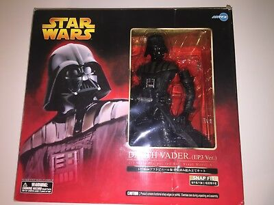 Kotobukiya ARTFX Star Wars Episode III DARTH VADER 1/7 PVC Statue 12""