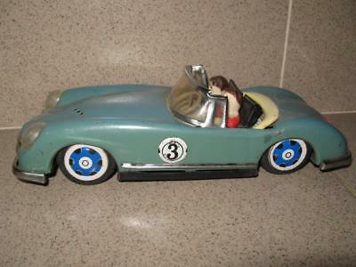 Antique Vintage 60s Old Tin Car Toy from China RARE TYPE !