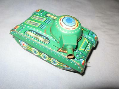 Antique Vintage Tin Toy Tank Manufactured in China