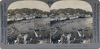 France Cannes Stereo Vintage Analogue Silver Print
