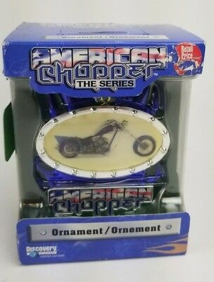 American Chopper The Series Ornament Christmas Motorcycle Retired Rare
