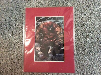Marvel Comics Limited Edition Laser Cel Juggernaut