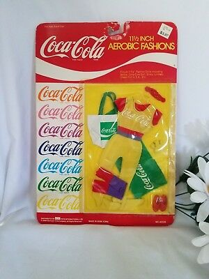 "1986 Coca-Cola Aerobic Fashions #40109 Fits 11.5"" doll Barbie & more"