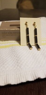 Vintage Avon Color Play Earrings With Surgical Steel Posts