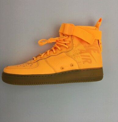 competitive price 8ad6f 65a97 SF AF1 Mid Odell Beckham Jr OBJ Special Air Force Laser Orange Nike Size  10.5