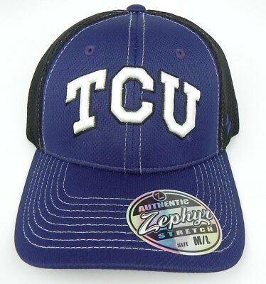 online store f62c4 ad27b Tcu Texas Christian Horned Frogs Flex-Fit Rally 2 Cap Hat Adult Z-Fit