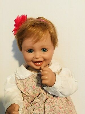 "My Twinn Posable 19"" Toddler Baby Doll Red Hair Blue Eyes 1999 by Karen Smith"