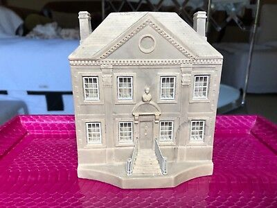 Timothy Richards architectural model sculpture bookend. Reddish House. Rare.